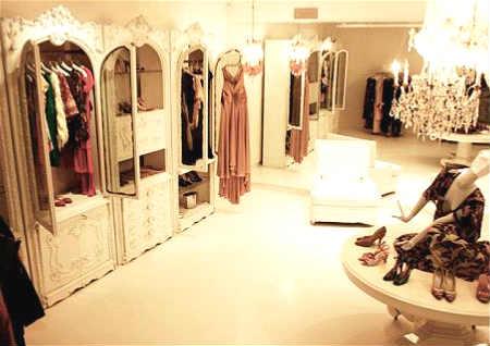 服装店铺试衣镜风水