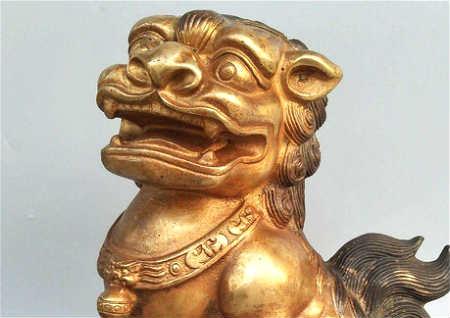 铜狮子的风水作用