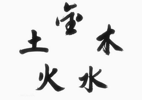 金木水火土五行数字表