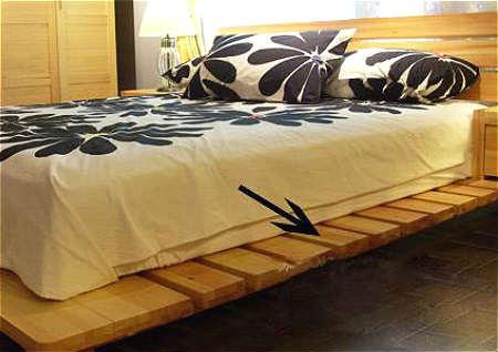 床底放东西风水禁忌