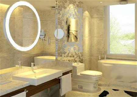 卫生间镜子风水讲究