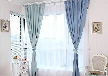 客厅忌什么颜色的窗帘
