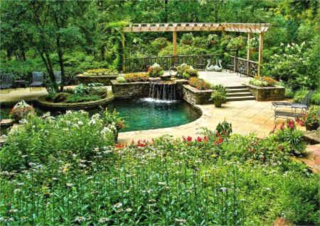 别墅花园风水