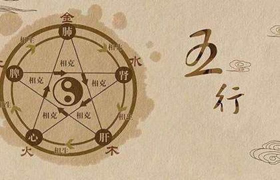 五行的阴阳属性对应表