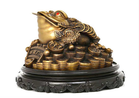 金蟾的寓意和象征