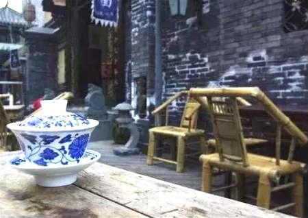 茶楼旺财的风水