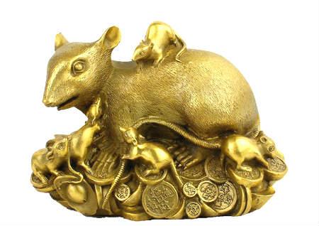 金钱鼠的风水寓意是什么