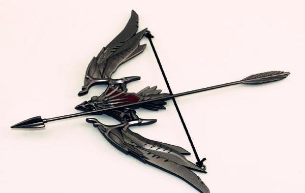 八字带弓箭