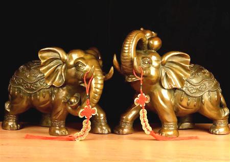 铜象的风水作用