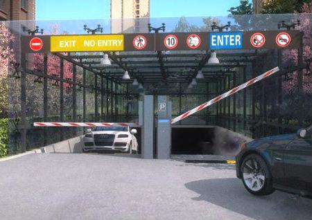 大门对着车库好吗