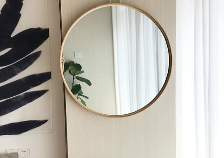客厅放镜子风水讲究