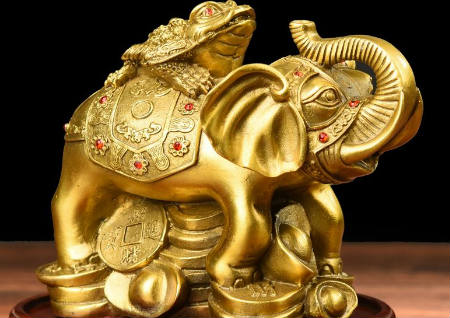 家里摆大象是什么寓意