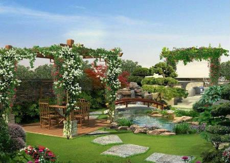 别墅花园风水布局