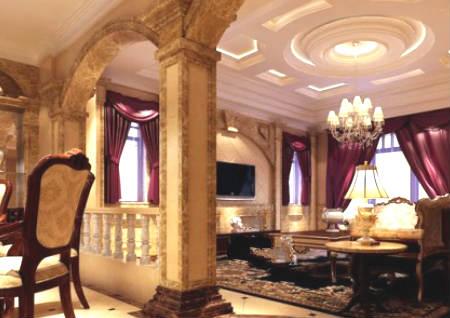 客厅中间有柱子风水好吗