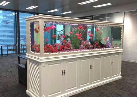 店铺鱼缸放在什么位置招财