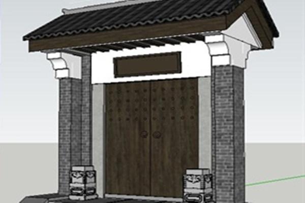 安装大门需要注意的风水事项